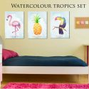 watercolour tropics